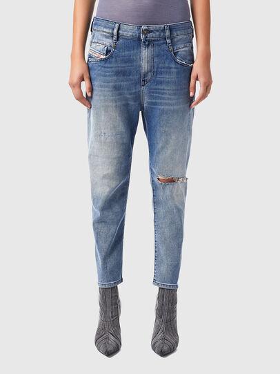 Diesel - Fayza Boyfriend Jeans 09B16, Light Blue - Jeans - Image 1