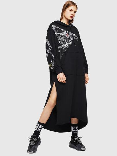 Diesel - D-ILSE-TWIST-A, Black - Dresses - Image 1
