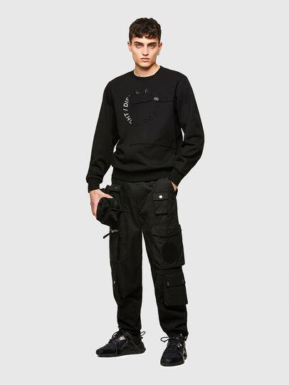 Diesel - S-GIRKEMB, Black - Sweatshirts - Image 4