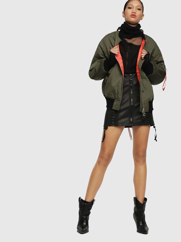 W-ZALIA, Military Green - Winter Jackets