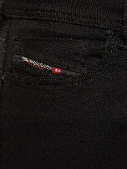Diesel - Sleenker Skinny Jeans 069EI, Black/Dark Grey - Jeans - Image 3