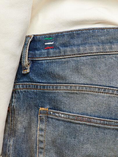 Diesel - D-Vider Carrot Jeans 009NH, Medium Blue - Jeans - Image 4