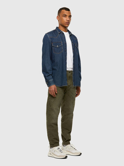 Diesel - D-Azzer JoggJeans® 069NF, Military Green - Jeans - Image 6