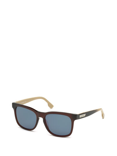 Diesel - DL0151, Red - Sunglasses - Image 3