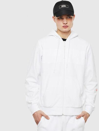 Diesel - S-DIEX, White - Sweatshirts - Image 1
