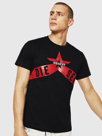 Diesel - T-DIEGO-A7, Black - T-Shirts - Image 1