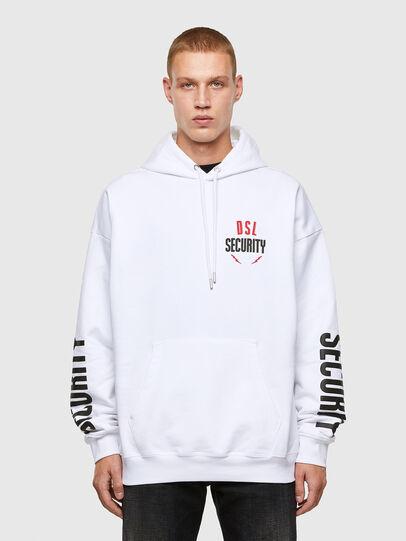 Diesel - S-UMMER-N72, White - Sweatshirts - Image 1