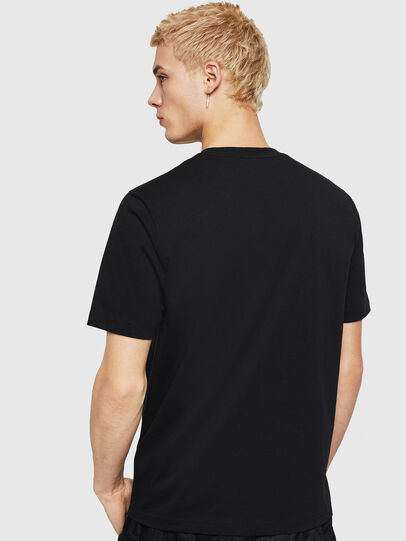 Diesel - T-JUST-A5, Black - T-Shirts - Image 2