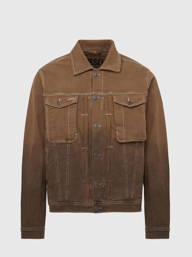 D-YOGI-SP JOGGJEANS, Brown - Denim Jackets