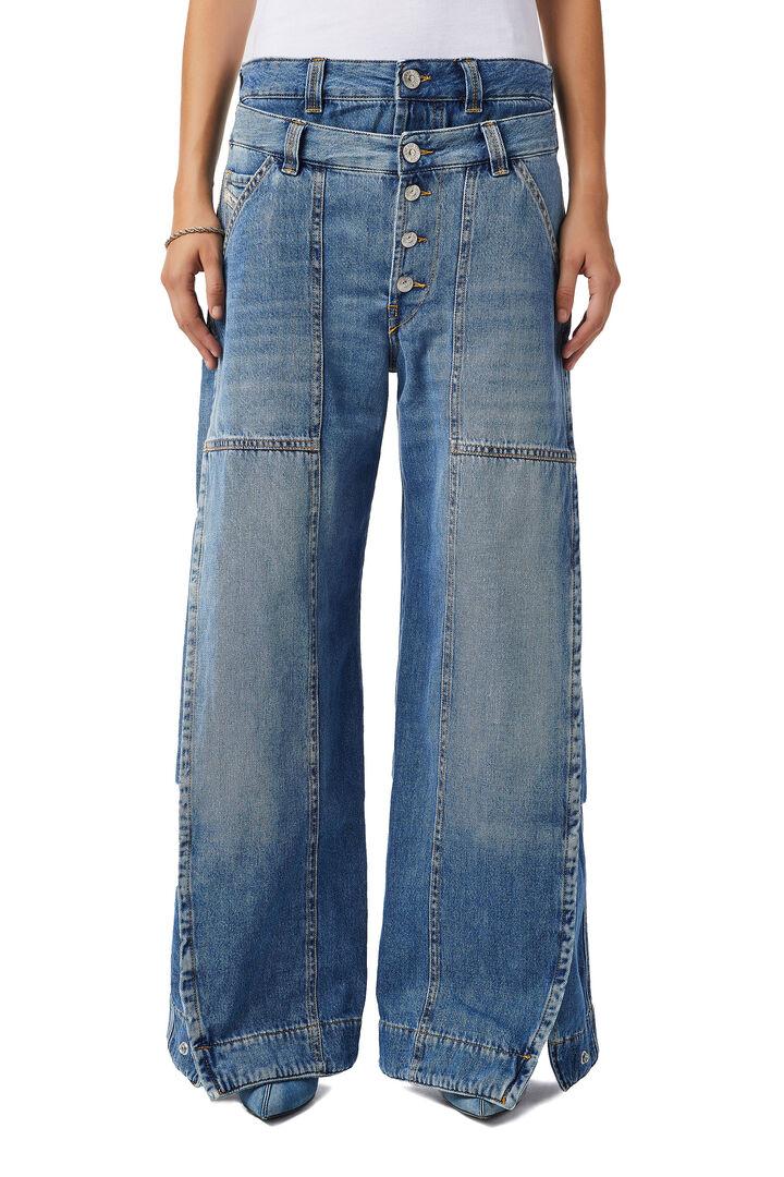 D-Laly Wide Jeans 0AFAM,