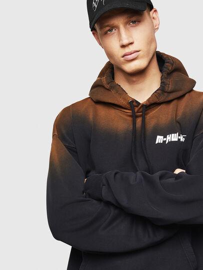 Diesel - S-ALBY-SUN, Black - Sweatshirts - Image 4