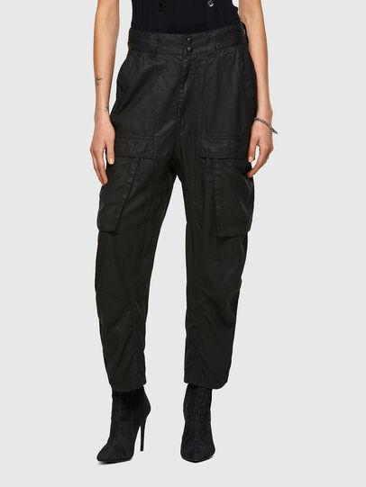 Diesel - D-Emma Boyfriend Jeans 069WX, Black/Dark Grey - Jeans - Image 1