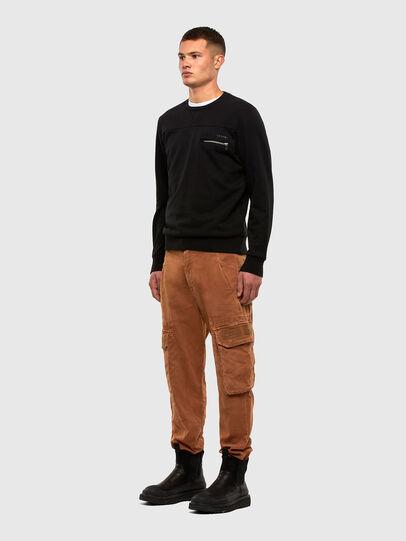 Diesel - S-CORINNE, Black - Sweatshirts - Image 4