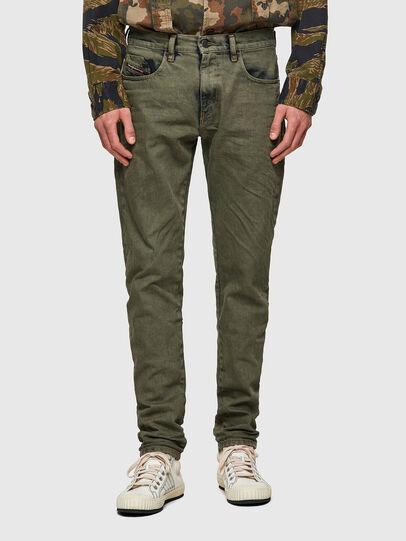 Diesel - D-Strukt Slim Jeans 09A50, Military Green - Jeans - Image 1