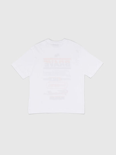 Diesel - TDIEGOSP OVER, White - T-shirts and Tops - Image 2