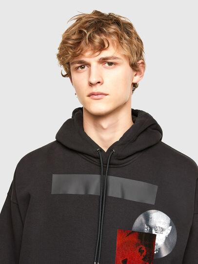 Diesel - S-HENON, Black - Sweatshirts - Image 3