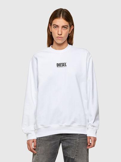 Diesel - F-ANG-SMALLOGO, White - Sweatshirts - Image 1