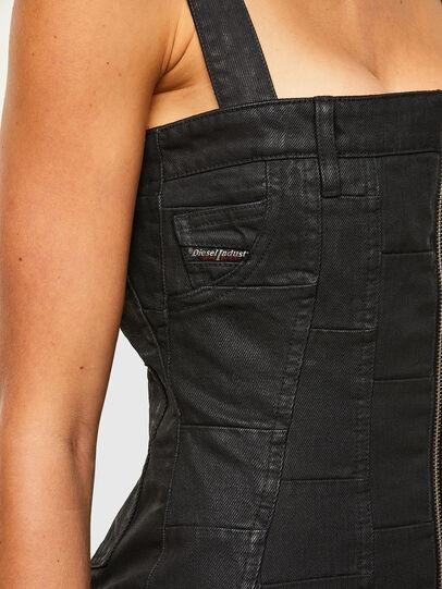 Diesel - DE-VOLCANO-SX, Black - Dresses - Image 3