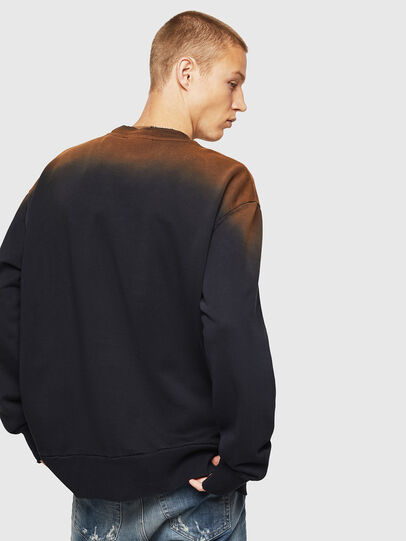 Diesel - S-BAY-SUN, Black - Sweatshirts - Image 4