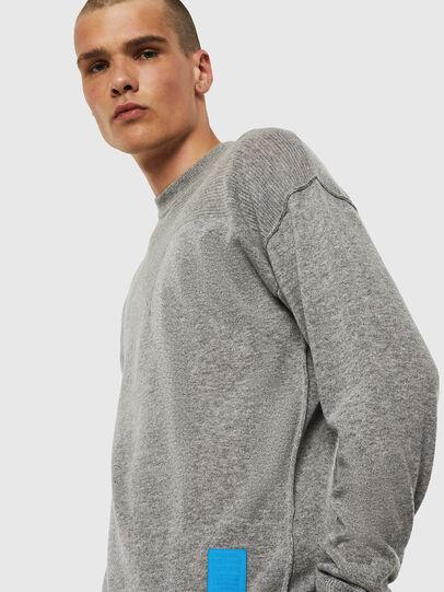 Diesel - K-LETO, Grey - Sweaters - Image 4