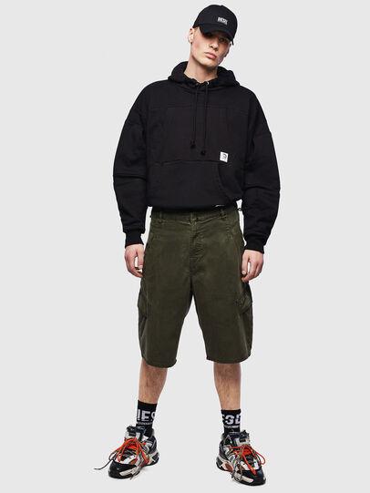 Diesel - D-KRETT-SHORT JOGGJEANS, Military Green - Shorts - Image 5
