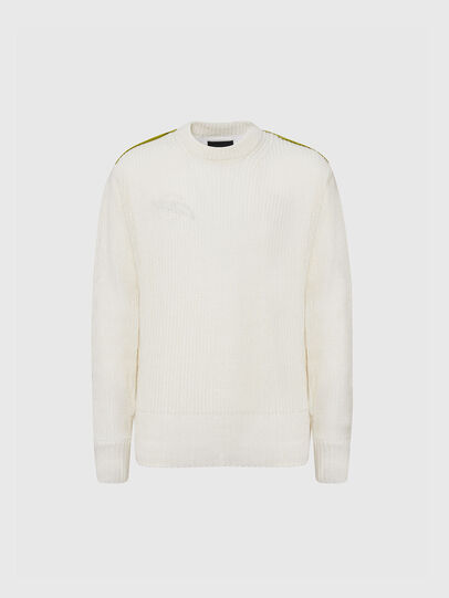 Diesel - K-DIBBY, White - Sweaters - Image 1