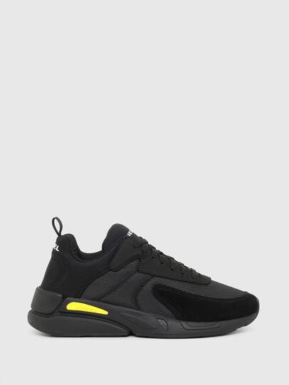 Diesel - S-SERENDIPITY LOW CU, Black/Yellow - Sneakers - Image 1