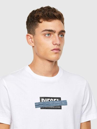 Diesel - T-DIEGOS-X40, White - T-Shirts - Image 3