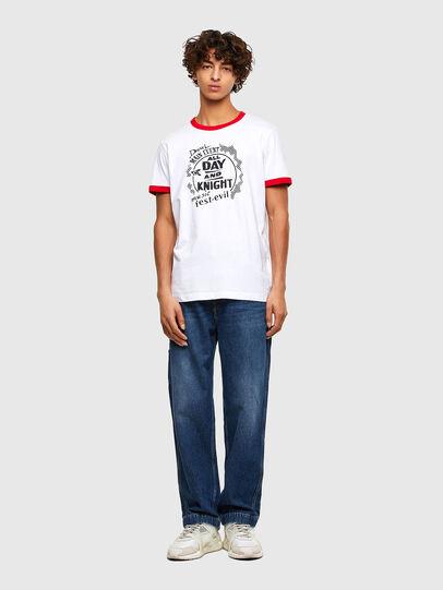 Diesel - T-DIERING-K10, White - T-Shirts - Image 4