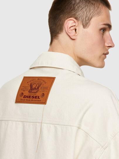 Diesel - DE-SOJO, White - Denim Jackets - Image 3