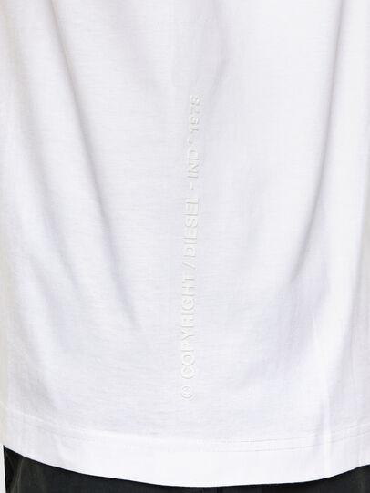Diesel - T-TUBOLAR-N2, White - T-Shirts - Image 4