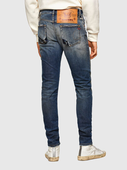 Diesel - D-Strukt Slim Jeans 009TX, Dark Blue - Jeans - Image 2