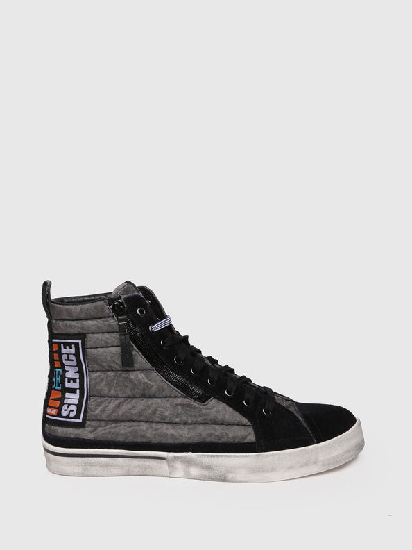 D-VELOWS MID PATCH, Gray/Black - Sneakers