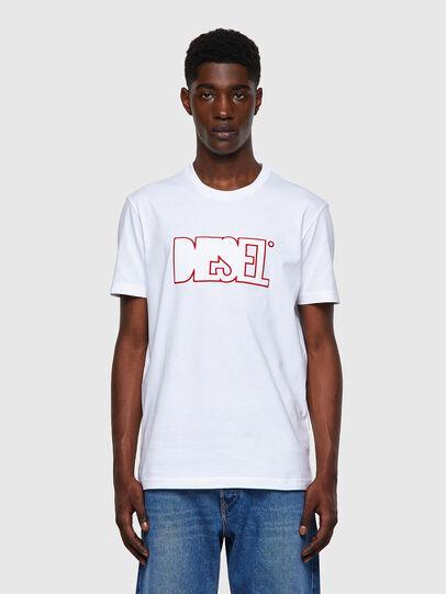 Diesel - T-DIEGOS-B8, White - T-Shirts - Image 1