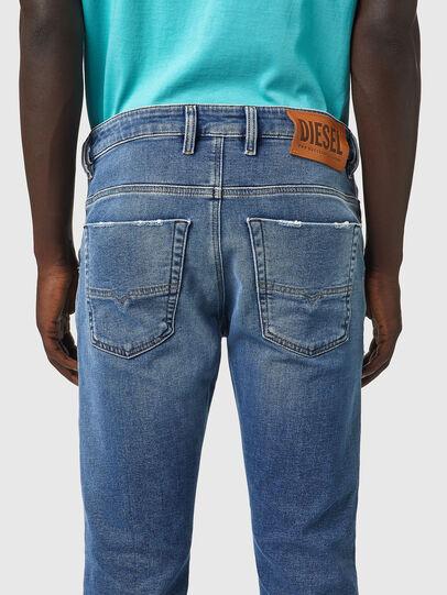 Diesel - Krooley Tapered JoggJeans® Z69VK, Medium blue - Jeans - Image 4