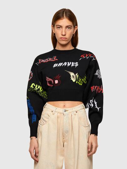 Diesel - M-MALI, Black - Sweaters - Image 1