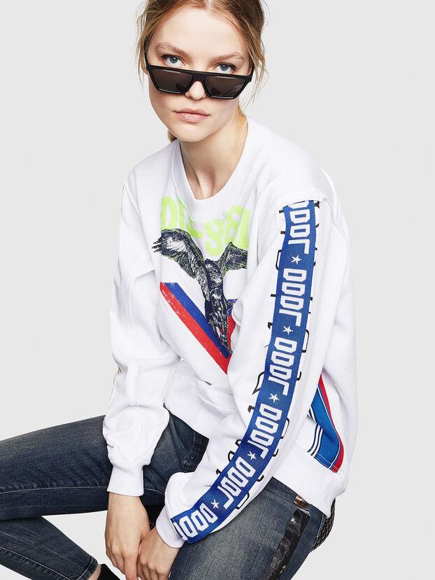 F-LYANYDY, White - Sweatshirts