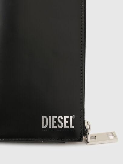 Diesel - L-24 ZIP, Negro - Carteras Con Cremallera - Image 4