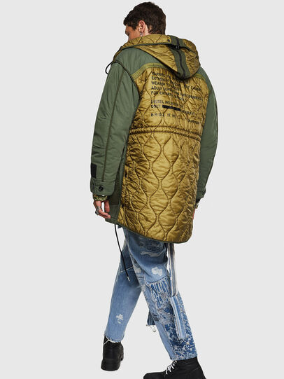 Diesel - W-KOVIK, Military Green - Winter Jackets - Image 8
