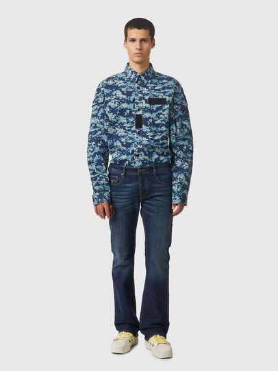 Diesel - Zatiny Bootcut Jeans 009HN, Dark Blue - Jeans - Image 5