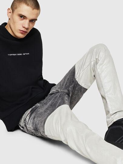 Diesel - D-Strukt 069GK, Black/Dark Grey - Jeans - Image 4