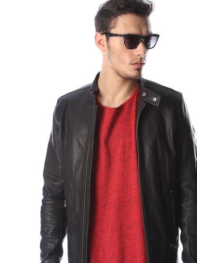 Diesel - DM0192, Black/White - Sunglasses - Image 5
