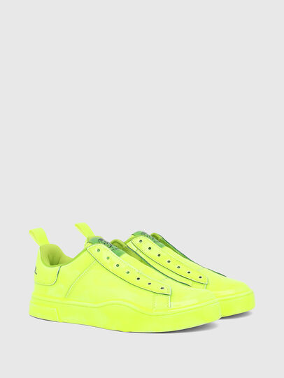Diesel - S-CLEVER SO W, Yellow - Sneakers - Image 2