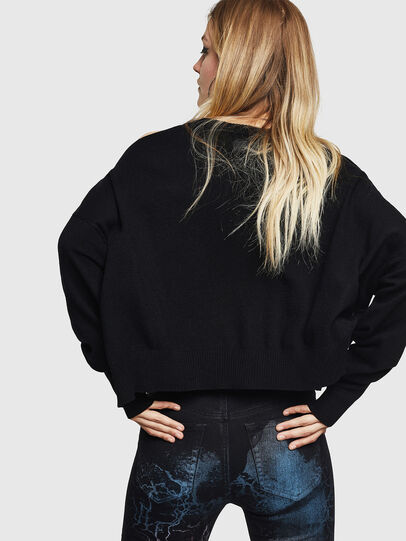 Diesel - M-NETTY, Black - Sweaters - Image 2