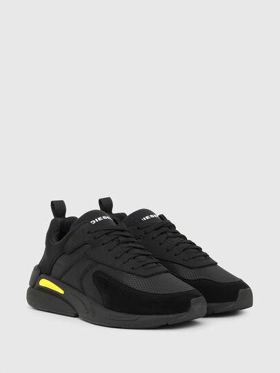 Diesel - S-SERENDIPITY LOW CU, Black/Yellow - Sneakers - Image 2