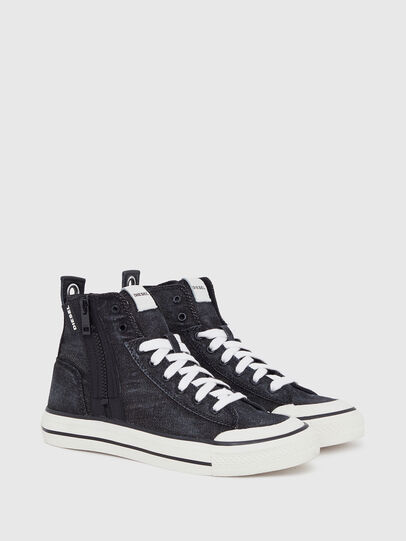 Diesel - S-ASTICO MID ZIP W, Black - Sneakers - Image 2