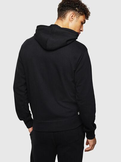 Diesel - UMLT-BRANDON-Z, Black - Sweatshirts - Image 2