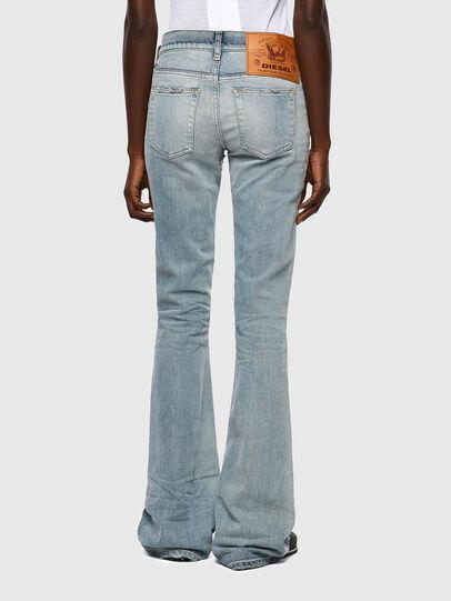 Diesel - D-Ebbey Bootcut Jeans 09A04, Light Blue - Jeans - Image 2