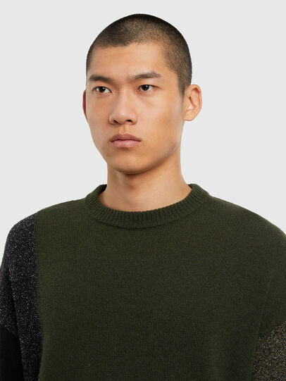 Diesel - K-MOSES, Olive Green - Sweaters - Image 3