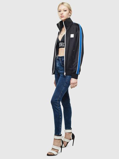 Diesel - Slandy High Skinny Jeans 0094Z, Dark Blue - Jeans - Image 5